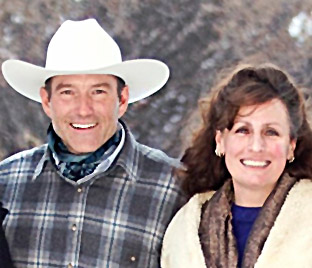 Dylan Biggs and Colleen Biggs of TK Ranch