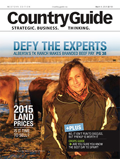 2015 Country Guide Magazine